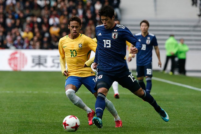 Brazil Japan Soccer